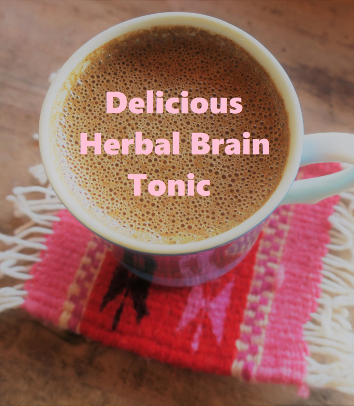 Delicious Herbal Brain and Energy Tonic as Coffee Repacement